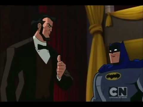Batman and Abe Lincoln vs John Wilkes Booth