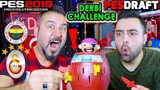 OYUNCAK İLE ÖDÜL-CEZA DERBİ CHALLENGE! | PES 2019 PESDRAFT