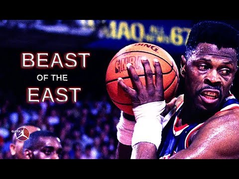 PATRICK EWING BEAST OF THE EAST