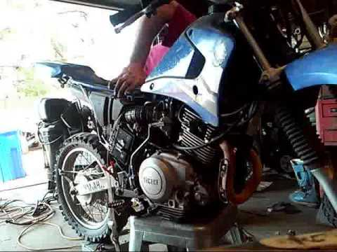 yamaha ttr125 part 6 finished assembly and throttle adjust ready to ride