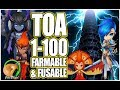 SUMMONERS WAR : How To Beat Trial of Ascension 1-100 (Farmable/Fusable Monsters Only)