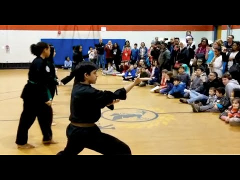 Silat Demo at Rock View Elementary School