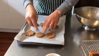 Dr Phil Sheldon's Almond, Oat & Quinoa Cookies