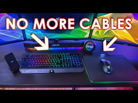 IMPROVE YOUR GAMING SETUP - Drilling A Hole In My IKEA Linnmon Desk