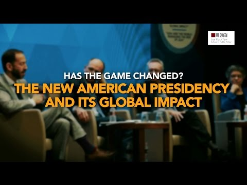[Highlights] The New American Presidency and Its Global Impact