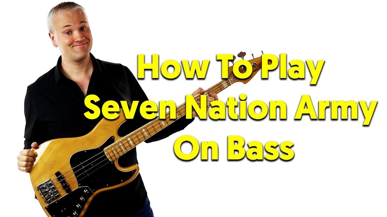 how to play seven nation army solo