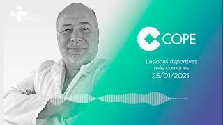 COPE | ¿Cuáles son las lesiones deportivas mas comunes? por el Dr. Armando Castillo