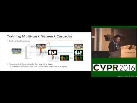 Instance-Aware Semantic Segmentation via Multi-Task Network Cascades