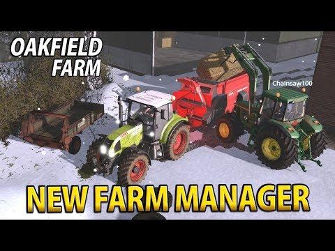 NEW FARM MANAGER - Chainsaw100 | Farming Simulator 17 | Oakfield Farm - Episode 30