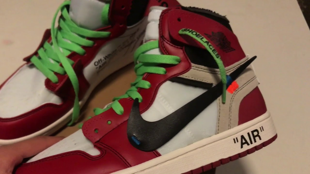 Off White x Air Jordan 1 from DHGate Eva Review