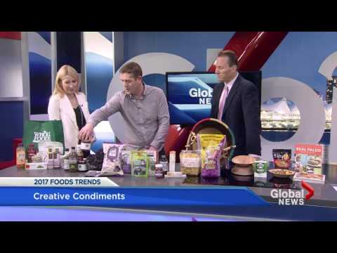 Whole Foods features Wize Monkey in Top 10 2017 Foods Trends on Global TV