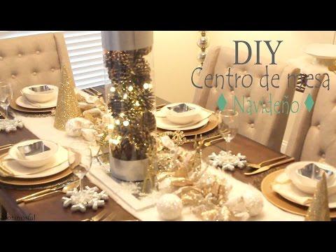 Centro de Mesa Navideño y Tips para Decorar tu Mesa ♦ Christmas Centerpiece♦