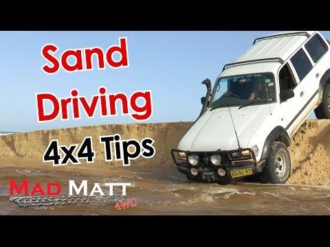 Sand Driving 4x4 - MadMatt 4wd Tips