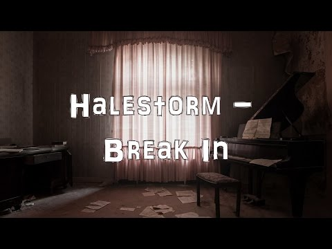 Halestorm - Break In [Acoustic Cover.Lyrics.Karaoke]