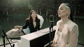Giolì & Assia - #AcousticSession Of Moon Faces EP @Lago Maulazzo [Handpan And Piano]