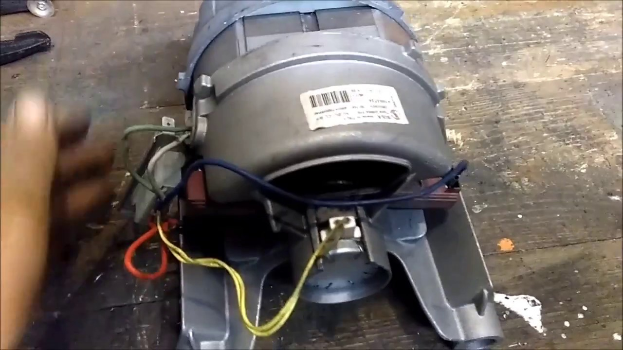 ARISTON Lavatrice Spazzole Di Carbone Per INDESCO MOTORS montaggio video