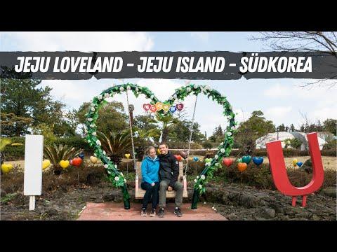 Jeju Loveland und Unmengen an Schnee • Jeju Island Südkorea   VLOG #338