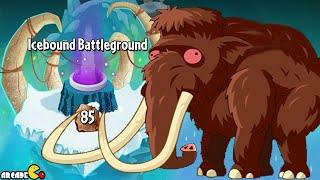 Plants vs Zombies 2: EPIC GLITCH Level 85 Icebound Battleground! (Frostbite Caves Part 2)
