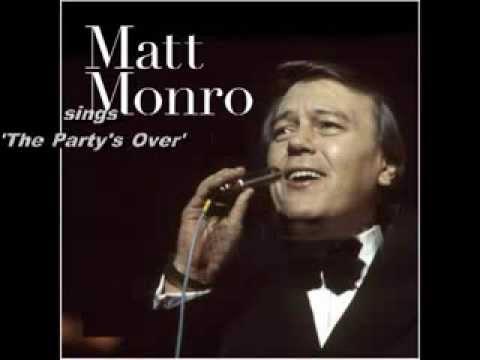 Matt Monro   The Party's Over