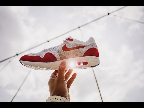 Nike Air Max 1 Ultra Flyknit – OG Sport Red | bowties and bones