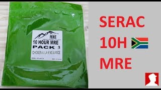 South African Ration Review: SERAC 10H MRE Menu 3 Combination
