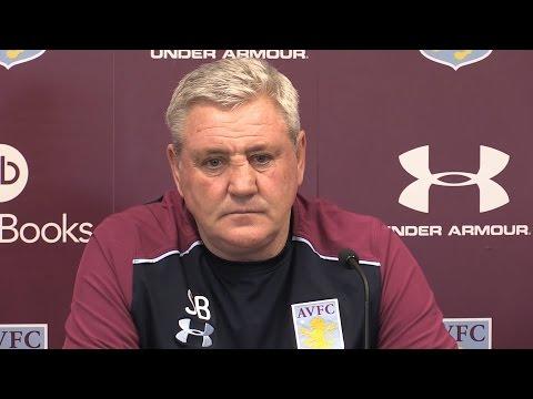 Steve Bruce Pre-Match Press Conference - Aston Villa v Derby
