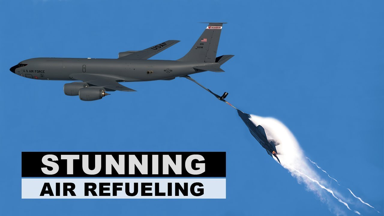 Stunning footage of F-35 and KC-46 Completes Receiver Certification Testing