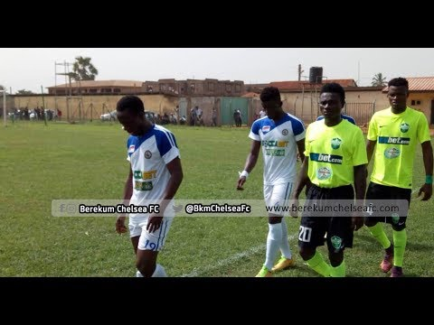 Berekum Chelsea Fc Vs Dreams Fc - Highlights
