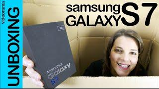 Samsung Galaxy S7 CONCURSO unboxing en español | 4K UHD