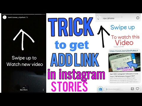 Trick To Get Add Link Feature In Instagram Stories Without Getting