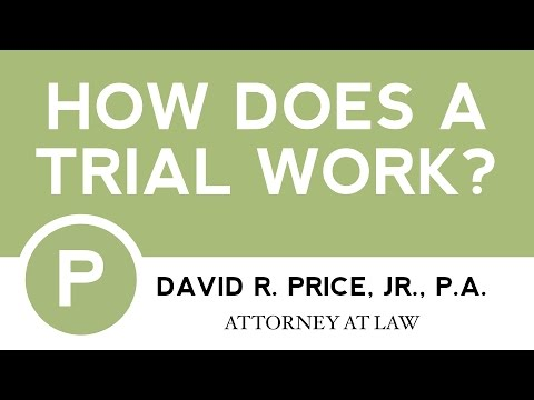 How Does A Trial Work? | Personal Injury Attorney Greenville South Carolina | 864-271-2636