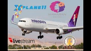 X-Plane 11  B763 B732   To Tropical Bliss