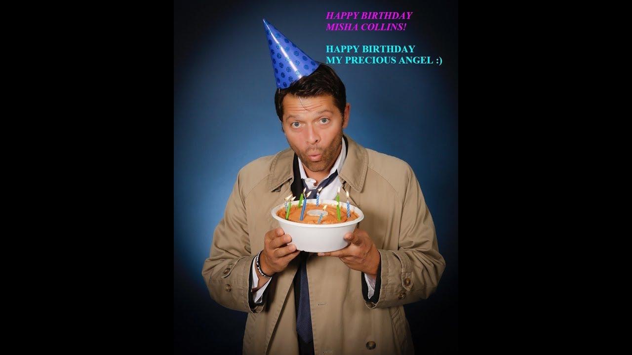 misha collins birthday Happy 43rd Birthday Misha Collins (08/20/2017)   YouTube misha collins birthday
