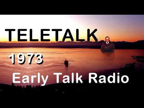 """""""Teletalk With Bob Marks"""" Early Talk Radio (1973)."""