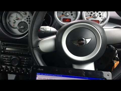 Mini Cooper S R53 - Ecu Reset Adaptations Values - Reset Oil Light - Using INPA