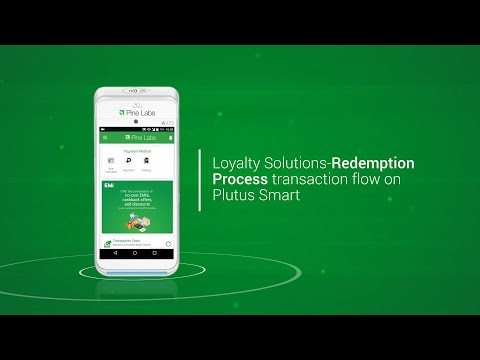 Loyalty Solutions- Redemption Process transaction flow on Plutus Smart