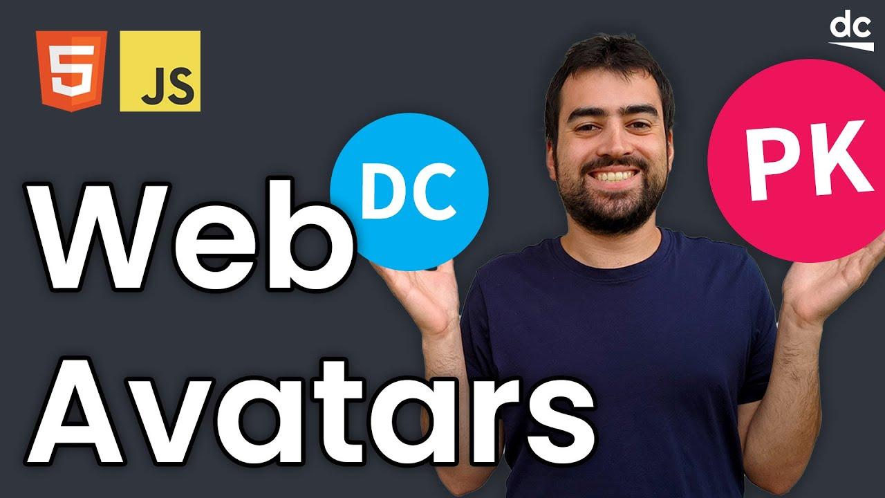 Build a User Avatar Image Generator - JavaScript & HTML Tutorial