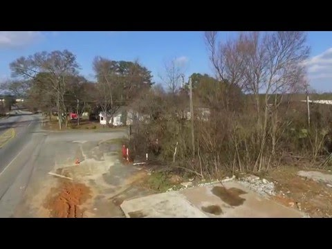 Castle Lake Kennesaw, GA Aerial View With Drone