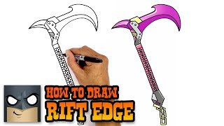 How to Draw Fortnite Weapons | Rift Edge