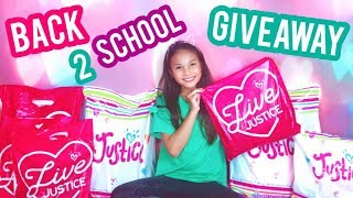 🎒Back to School Shopping Justice Clothing Haul + Giveaway 2018