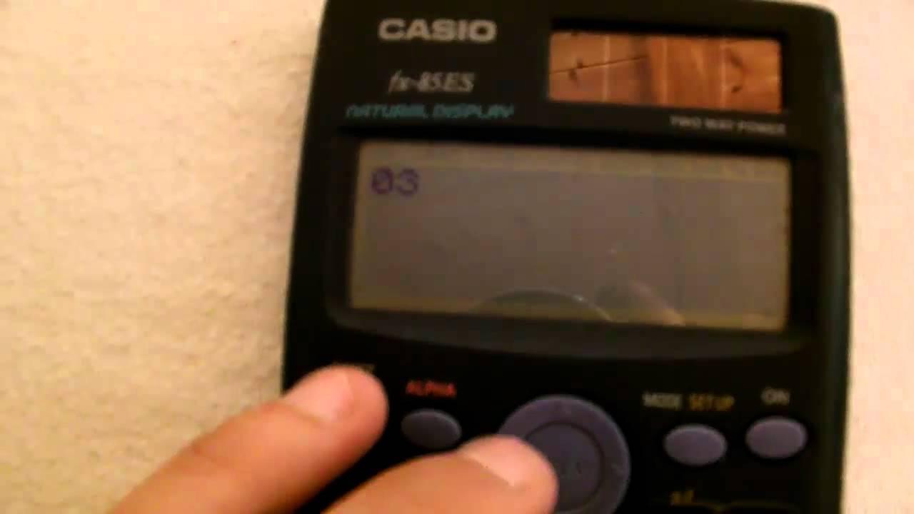 Casio Taschenrechner Spiele