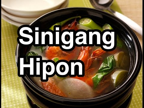 ‬Sinigang Hipon - Pinoy Shrimps Prawns Recipe Filipino