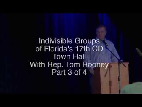 Town Hall with Congressman Tom Rooney Part 3 of 4