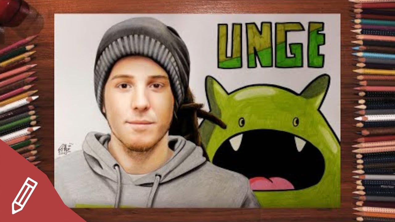 Drawing Simon Unge / Ungespielt - REALISTIC PENCIL PORTRAIT | Time ...