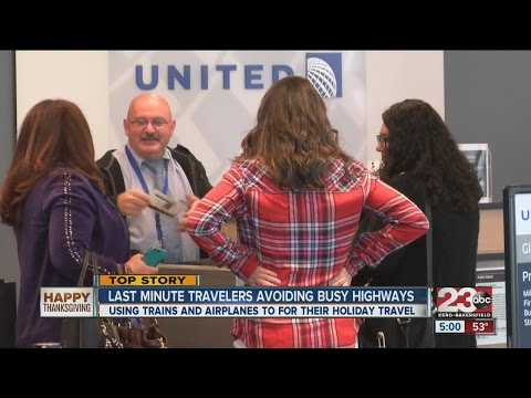 Using trains and airplanes for holiday travel