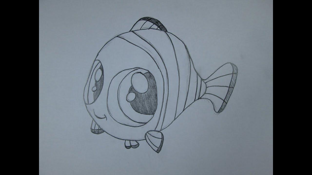 Cmo dibujar Nemo de Buscando a Nemo  YouTube