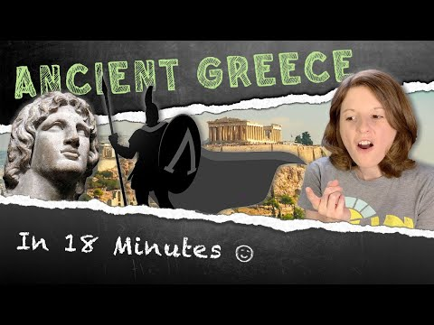 American Reacts to Ancient Greece in 18 Minutes