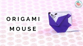 Origami Mouse Tutorial | How to Fold an Origami Mouse | Easy Paper Crafts for Kids
