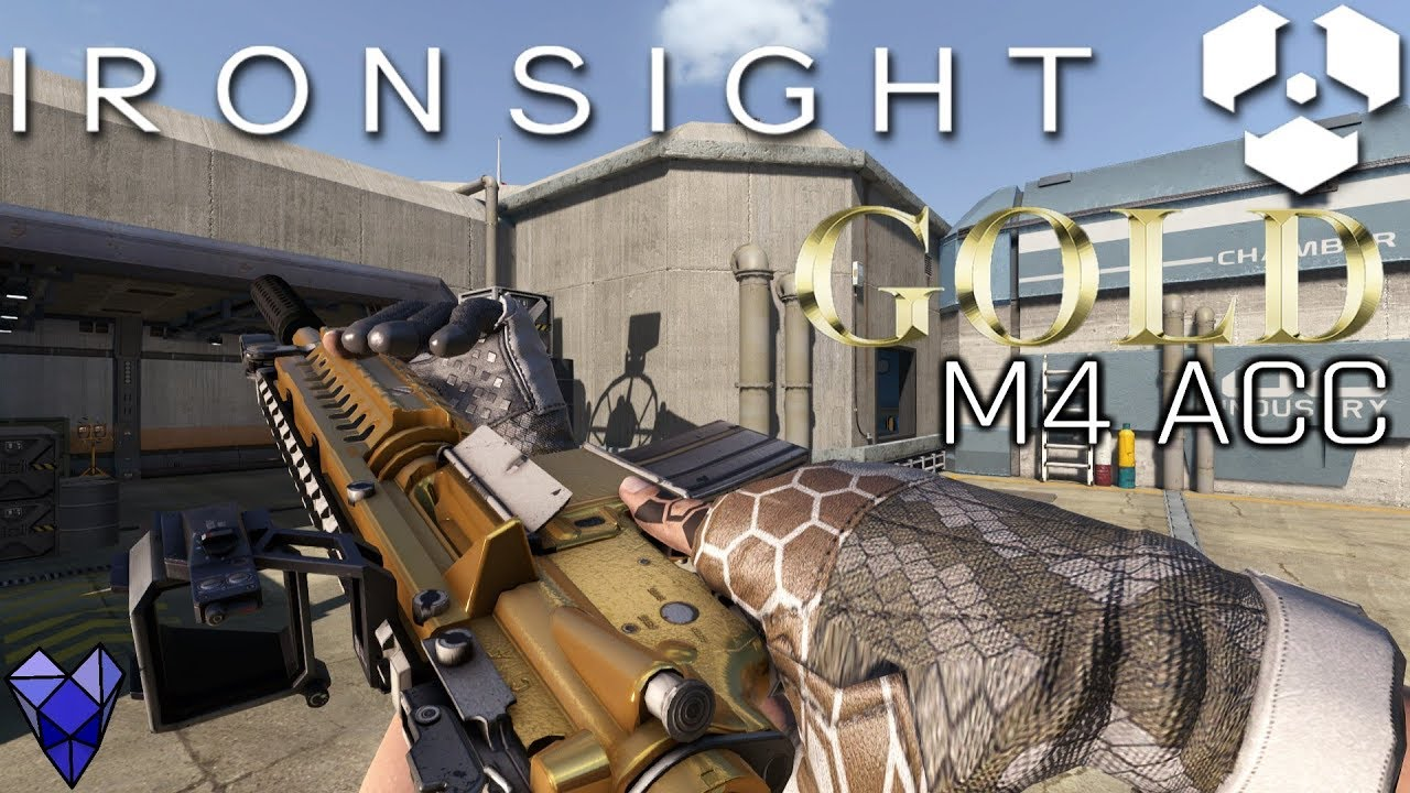 IRONSIGHT: GOLD M4 ACC GAMEPLAY, TIPS - World Cup | news