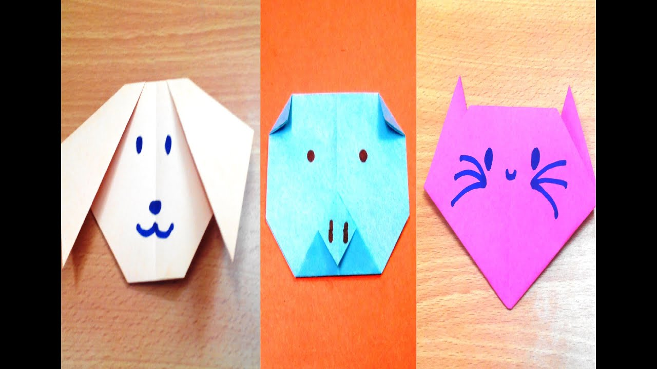 Origami dog face how to origami - Origami Dog Face How To Origami 18